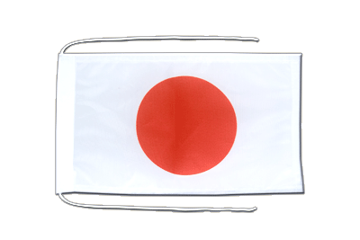 Flag with ropes Japan - 8x12""