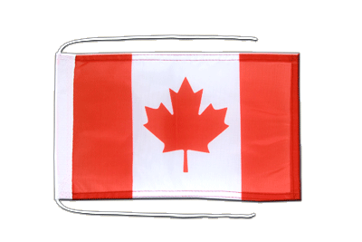 Flag with ropes Canada - 8x12""