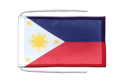 Flag with ropes Philippines - 8x12""
