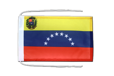 Flag with ropes Venezuela 8 stars - 8x12""