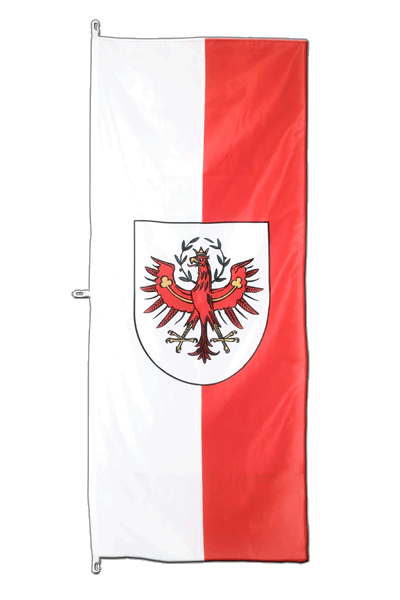 Vertical Hanging Flag Tyrol - approx 2 x 6 ft