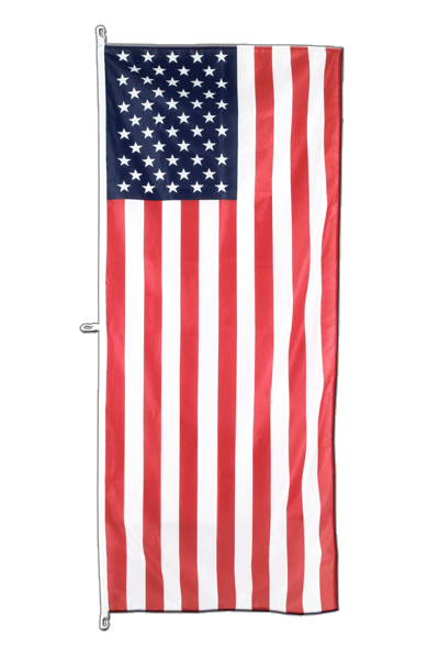 USA - Vertical Hanging Flag 80 x 200 cm