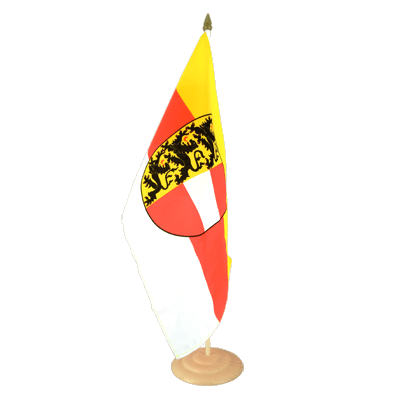 "Large Table Flag Carnithia - 12x18"", wooden"
