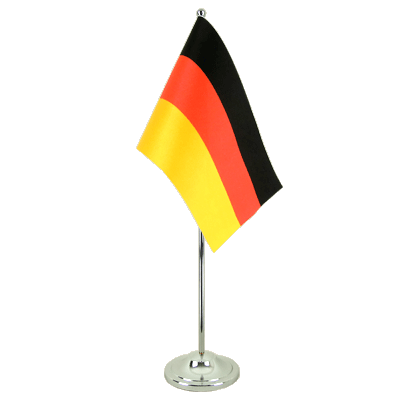 Satin Desk and Table Flag Germany - 6x9""