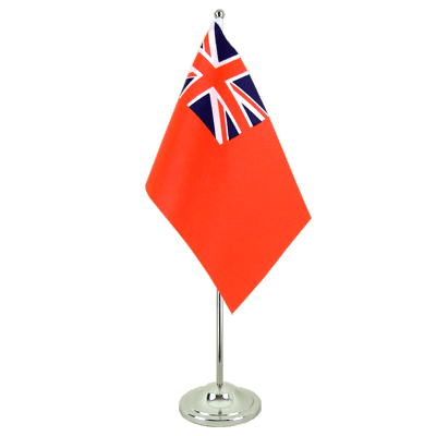 Drapeau de table prestige Red Ensign 15x22 cm