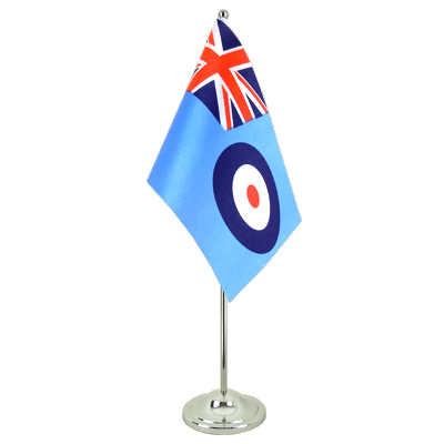 Satin Table Flag Royal Airforce - 6x9""