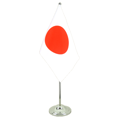 Drapeau de table prestige Japon 15x22 cm