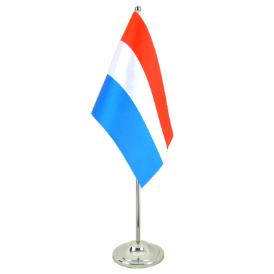 Satin Table Flag Netherlands - 6x9""