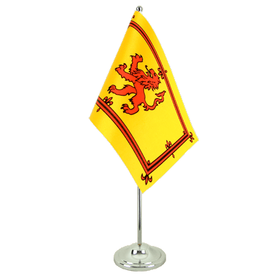 Satin Desk and Table Flag Scotland Royal - 6x9""