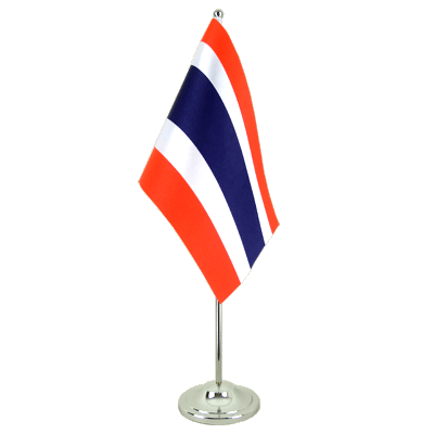 Satin Table Flag Thailand - 6x9""
