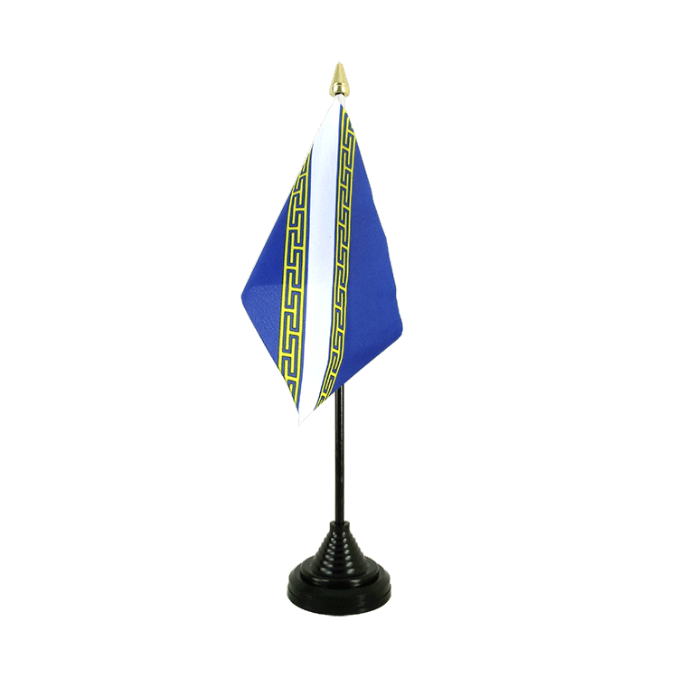 Mini drapeau de table Champagne Ardenne 10x15 cm