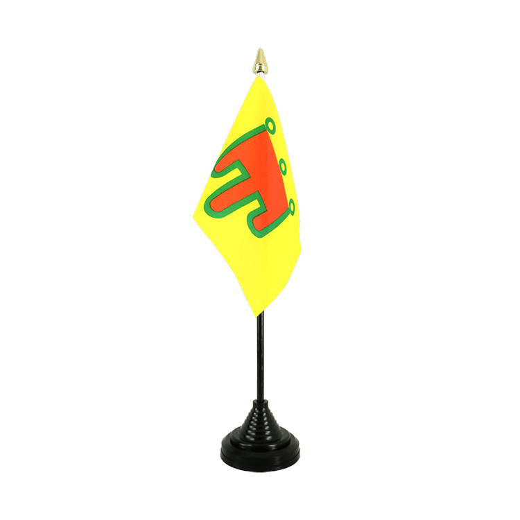 "Table Flag Auvergne - 4x6"" (10 x 15 cm)"