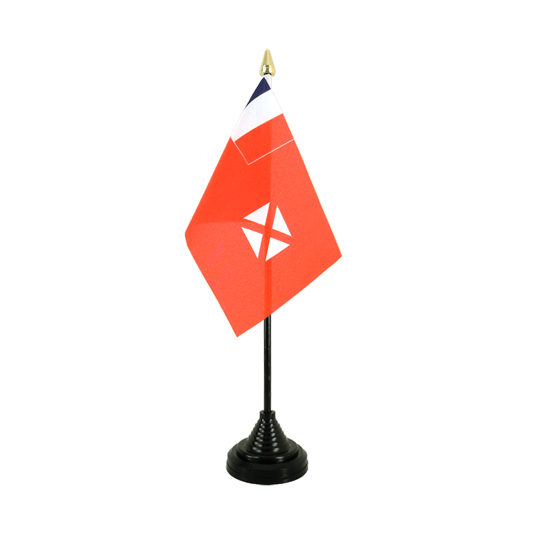 "Desk and Table Flag Wallis and Futuna - 4x6"" (10 x 15 cm)"