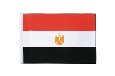 Satin Flag Egypt - 6x9""