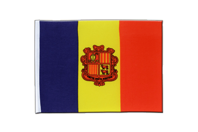 Satin Flag Andorra - 6x9""