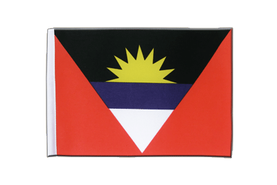 Satin Flag Antigua and Barbuda - 6x9""