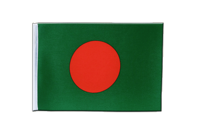 Satin Flag Bangladesh - 6x9""