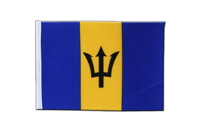 Satin Flag Barbados - 6x9""