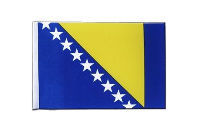 Satin Flag Bosnia-Herzegovina - 6x9""