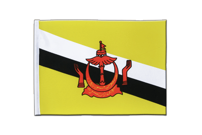 Satin Brunei Flag - 6x9""