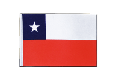 Satin Flag Chile - 6x9""