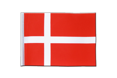 Satin Flag Denmark - 6x9""