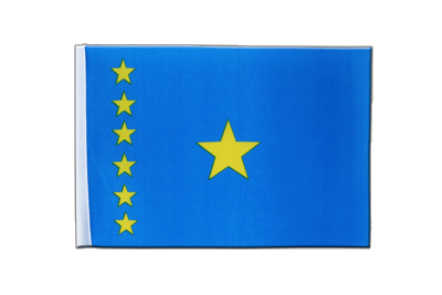 Satin Flag Democratic Republic of the Congo old - 6x9""