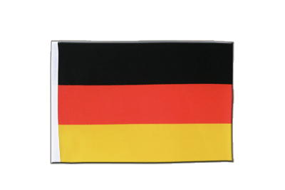 Satin Germany Flag - 6x9""