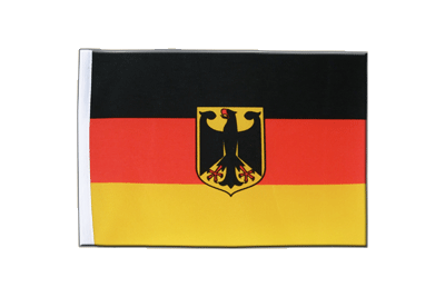 Satin Flag Germany Dienstflagge - 6x9""