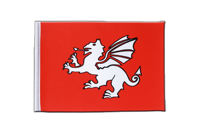 Satin Flag Pendragon new - 6x9""