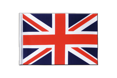 Satin Flag Great Britain - 6x9""