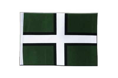 Satin Flag Devon - 6x9""