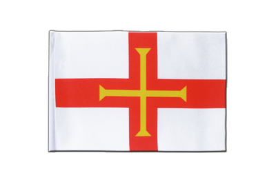 Satin Flag Guernsey - 6x9""