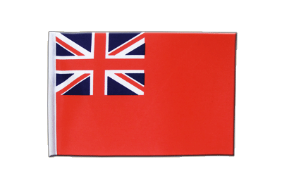 Petit drapeau en satin Red Ensign 15x22 cm