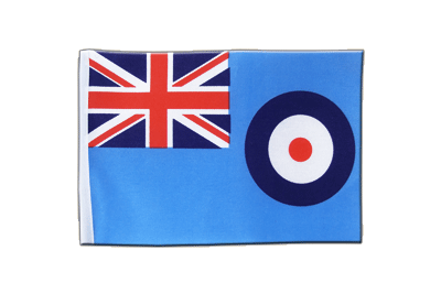 Drapeau en satin Royal Air Force 15 x 22 cm