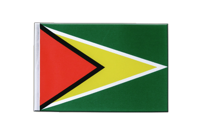 Satin Flag Guyana - 6x9""