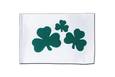 Satin Flag Shamrock - 6x9""