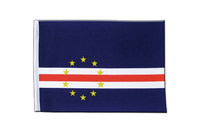 Satin Flag Cape Verde - 6x9""