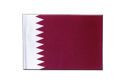 Satin Flag Qatar - 6x9""
