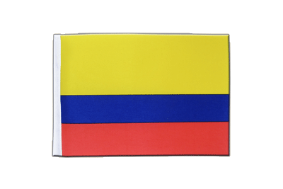 Satin Flag Colombia - 6x9""