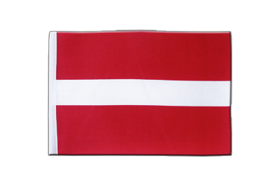 Satin Flag Latvia - 6x9""