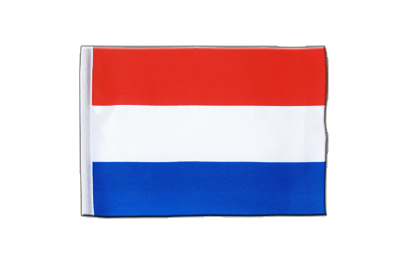 Satin Flag Luxembourg - 6x9""