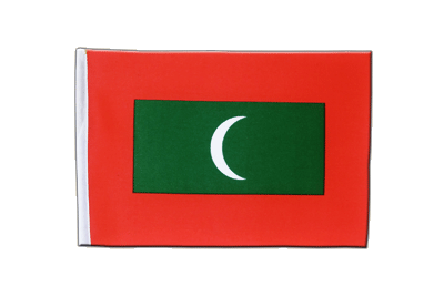 Satin Flag Maldives - 6x9""