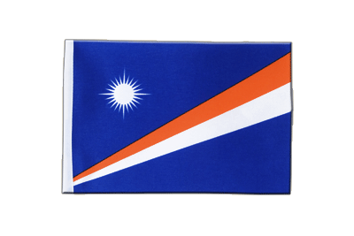 Satin Flag Marshall Islands - 6x9""