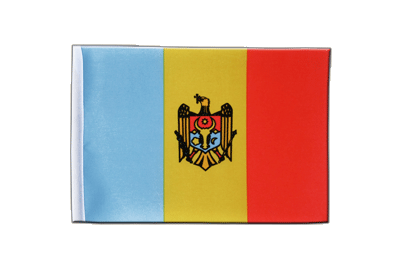 Satin Flag Moldova - 6x9""