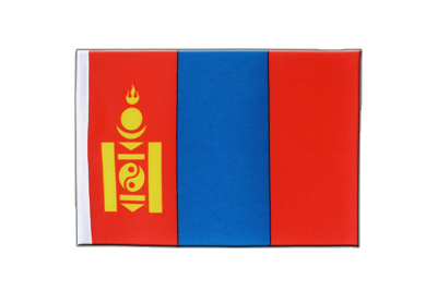 Satin Flag Mongolia - 6x9""
