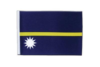 Satin Nauru Flag - 6x9""