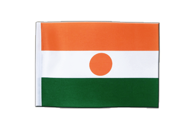 Satin Flag Niger - 6x9""
