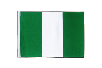 Satin Flag Nigeria - 6x9""