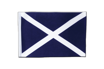 Satin Flag Scotland navy - 6x9""